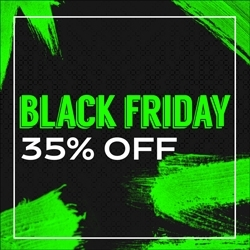 Black Friday 35% OFF